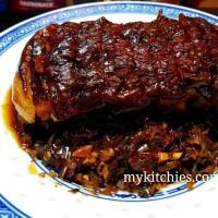 Khâu nhục chính bản Hakka (Mei cai kou rou -梅菜扣肉)