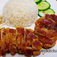 Thịt gà sốt Teriyaki (chicken Teriyaki)