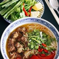 Bún Bò Hầm Nghệ An - Nghe An beef noodle soup