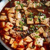 Đậu hũ sốt cay Tứ Xuyên (Mapo Tofu)