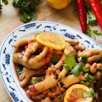 Chân gà chua cay Trung Quốc - chinese sour chicken feet salad