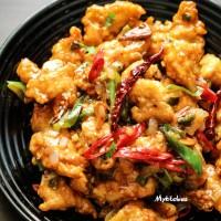 Gà sốt cay chua ngọt Hàn Quốc - Korean spicy garlic fried chicken