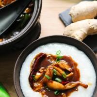 Cháo ếch Singapore - Frog leg porridge